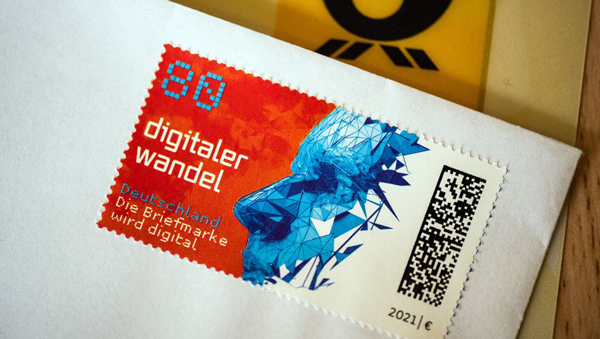 독일우표의 디지털코드