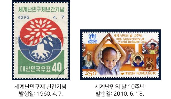 난민 관련 우표